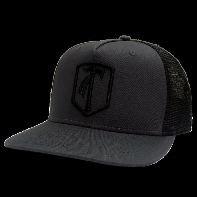 Tomahawk Charcoal and Black Ballcap
