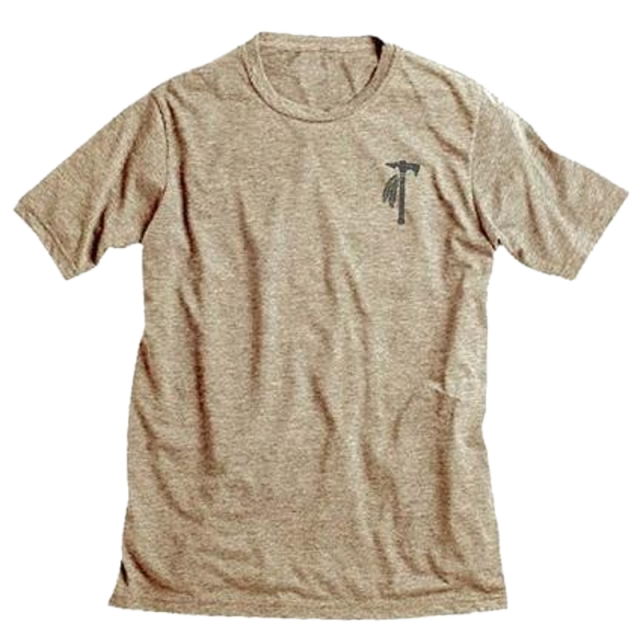 Tomahawk Heather Chocolate Shield Tee